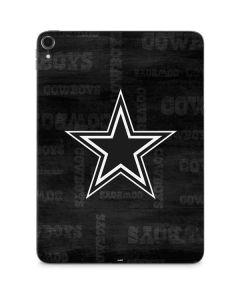 Dallas Cowboys Black & White Apple iPad Pro Skin
