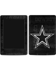 Dallas Cowboys Black & White Amazon Kindle Skin