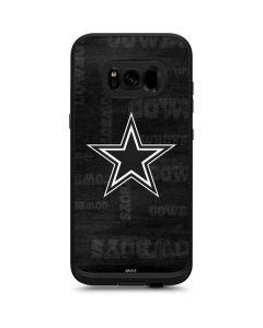 Dallas Cowboys Black & White LifeProof Fre Galaxy Skin