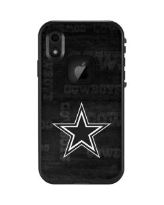 Dallas Cowboys Black & White LifeProof Fre iPhone Skin