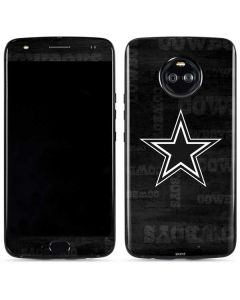 Dallas Cowboys Black & White Moto X4 Skin