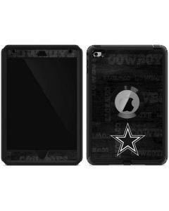 Dallas Cowboys Black & White Otterbox Defender iPad Skin
