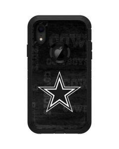 Dallas Cowboys Black & White Otterbox Defender iPhone Skin