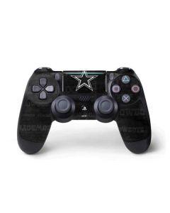 Dallas Cowboys Black & White PS4 Pro/Slim Controller Skin