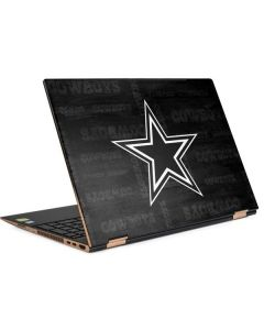 Dallas Cowboys Black & White HP Spectre Skin