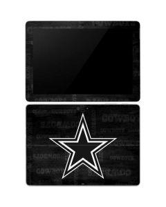 Dallas Cowboys Black & White Surface Go Skin