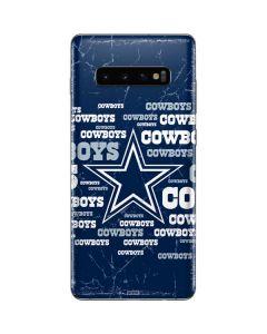 Dallas Cowboys Blast Galaxy S10 Plus Skin