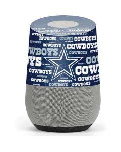 Dallas Cowboys Blast Google Home Skin