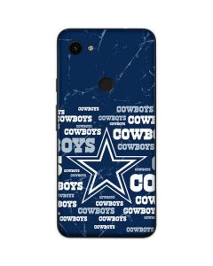 Dallas Cowboys Blast Google Pixel 3a Skin