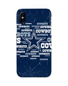 Dallas Cowboys Blast iPhone XS Max Lite Case