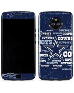 Dallas Cowboys Blast Moto X4 Skin