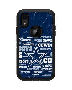 Dallas Cowboys Blast Otterbox Defender iPhone Skin