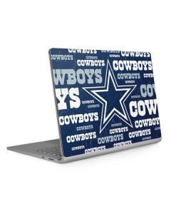 Dallas Cowboys Blast Surface Book 2 13.5in Skin