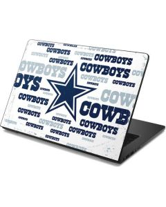 Dallas Cowboys Blue Blast Dell Chromebook Skin