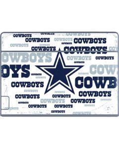 Dallas Cowboys Blue Blast Galaxy Book Keyboard Folio 12in Skin