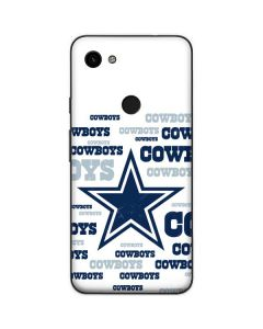 Dallas Cowboys Blue Blast Google Pixel 3a Skin