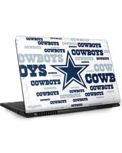 Dallas Cowboys Blue Blast Dell Inspiron Skin
