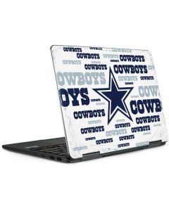 Dallas Cowboys Blue Blast Notebook 9 Pro 13in (2017) Skin