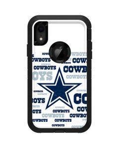 Dallas Cowboys Blue Blast Otterbox Defender iPhone Skin