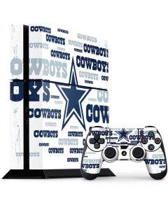Dallas Cowboys Blue Blast PS4 Console and Controller Bundle Skin