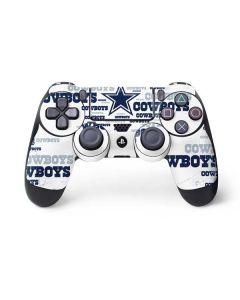 Dallas Cowboys Blue Blast PS4 Controller Skin