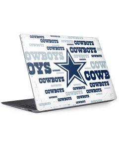 Dallas Cowboys Blue Blast Surface Laptop 2 Skin