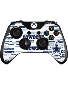 Dallas Cowboys Blue Blast Xbox One Controller Skin