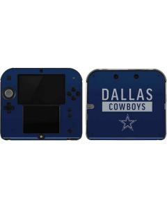 Dallas Cowboys Blue Performance Series 2DS Skin