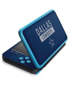 Dallas Cowboys Blue Performance Series 2DS XL (2017) Skin