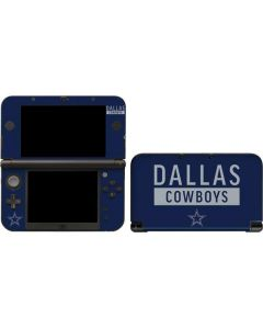 Dallas Cowboys Blue Performance Series 3DS XL 2015 Skin