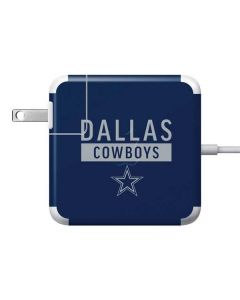Dallas Cowboys Blue Performance Series Apple Charger Skin