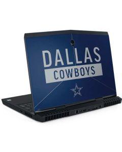 Dallas Cowboys Blue Performance Series Dell Alienware Skin
