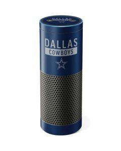 Dallas Cowboys Blue Performance Series Amazon Echo Skin