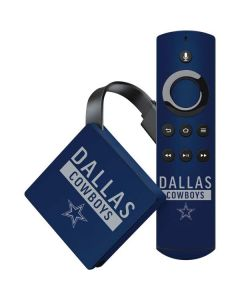 Dallas Cowboys Blue Performance Series Amazon Fire TV Skin