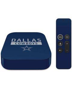 Dallas Cowboys Blue Performance Series Apple TV Skin