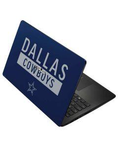 Dallas Cowboys Blue Performance Series Asus X502CA 15.6 Skin