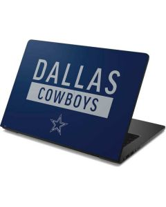 Dallas Cowboys Blue Performance Series Dell Chromebook Skin