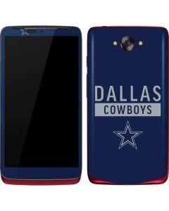Dallas Cowboys Blue Performance Series Motorola Droid Skin