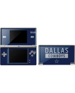 Dallas Cowboys Blue Performance Series DS Lite Skin