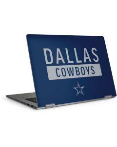 Dallas Cowboys Blue Performance Series HP Elitebook Skin