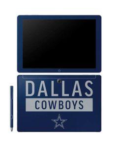 Dallas Cowboys Blue Performance Series Galaxy Book 12in Skin