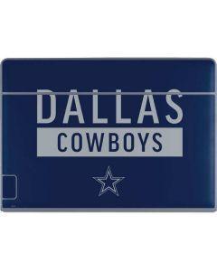 Dallas Cowboys Blue Performance Series Galaxy Book Keyboard Folio 12in Skin