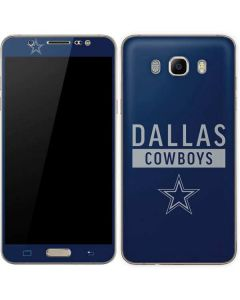 Dallas Cowboys Blue Performance Series Galaxy J7 Skin