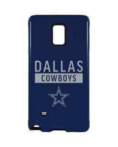 Dallas Cowboys Blue Performance Series Galaxy Note 4 Pro Case