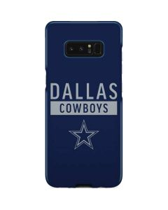 Dallas Cowboys Blue Performance Series Galaxy Note 8 Lite Case