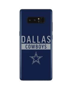Dallas Cowboys Blue Performance Series Galaxy Note 8 Skin