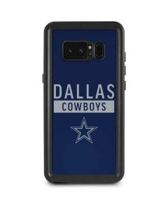 Dallas Cowboys Blue Performance Series Galaxy Note 8 Waterproof Case