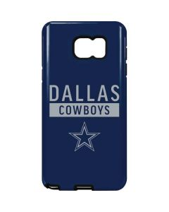 Dallas Cowboys Blue Performance Series Galaxy Note5 Pro Case