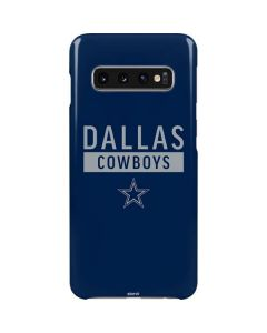 Dallas Cowboys Blue Performance Series Galaxy S10 Lite Case
