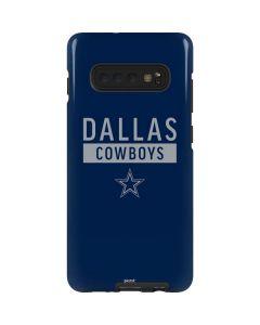 Dallas Cowboys Blue Performance Series Galaxy S10 Plus Pro Case